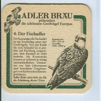 Adler podstawka Awers