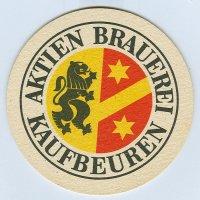 Aktien Brauerei podstawka Rewers