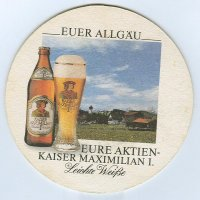 Aktien Brauerei podstawka Awers