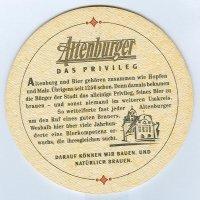 Altenburger podstawka Rewers
