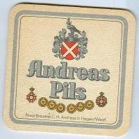 Andreas podstawka Awers