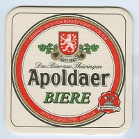 Apoldaer podstawka Awers