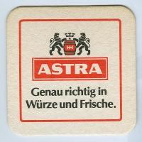 Astra podstawka Awers