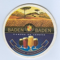 Baden Baden podstawka Awers