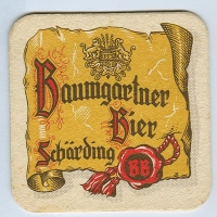 Baumgartner podstawka Awers