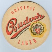 Budweiser podstawka Awers