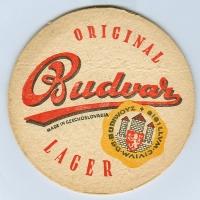 Budweiser podstawka Rewers