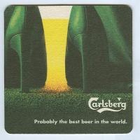 Carlsberg podstawka Awers