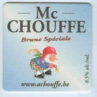 Chouffe podstawka Awers
