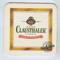Clausthaler podstawka Awers