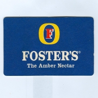Foster's podstawka Awers