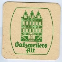 Gatsweilers Alt podstawka Awers