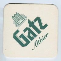 Gatz podstawka Awers