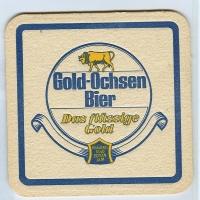 Gold Ochsen podstawka Awers