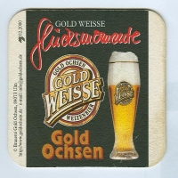 Gold Weisse podstawka Awers