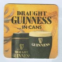 Guinness podstawka Awers