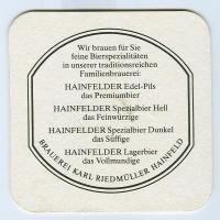 Hainfelder podstawka Rewers