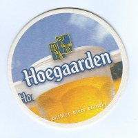 Hoegaarden podstawka Awers
