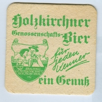 Holzkirchner podstawka Awers