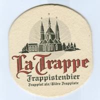 La Trappe podstawka Awers
