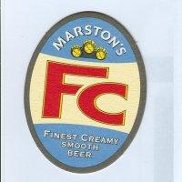 Marston's podstawka Awers