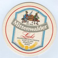 Mittenwalder podstawka Awers
