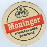 Moninger podstawka Awers
