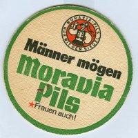 Moravia podstawka Awers