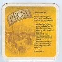 Pécsi sörfőzde podstawka Rewers