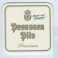Preussen podstawka Awers