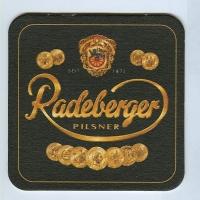 Radeberger podstawka Awers