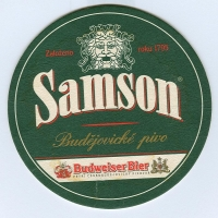 Samson podstawka Awers