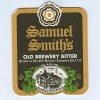 Samuel Smith's podstawka Awers