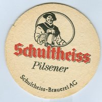 Schultheiss podstawka Awers