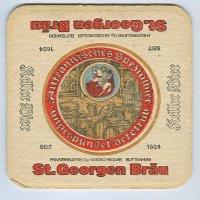 St. Georgen podstawka Awers