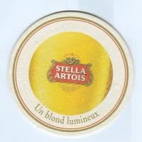 Stella Artois podstawka Awers