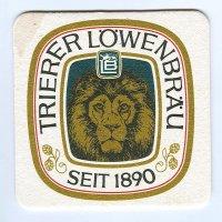 Trierer Löwenbräu podstawka Awers
