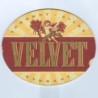 Velvet podstawka Awers
