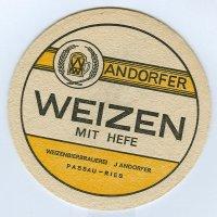 Weizen Andorfer podstawka Awers