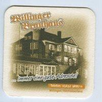 Willinger Brauhaus podstawka Awers