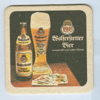 Wolferstetter podstawka Awers