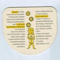 Zlatý Bažant podstawka Awers